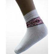 Шкарпетки зимові вишиті жіночі 3608 фото