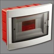 Шкаф монтажный Viko 8 автоматический скрытый фото