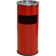 Урна-пепельница 250х580 мм красная [JXGPR25] фото