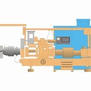Установка двухшнековая экструзионная 2Э-60П фото