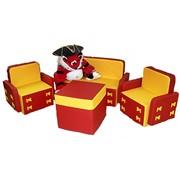 Набор мягкой мебели «Бантик» фото