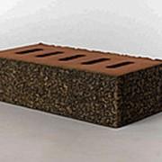 Кирпич лицевой керамический Латерра Темно-серый полнотелый одинарный фото