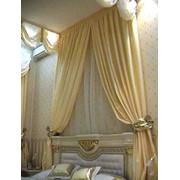 Пошив штор, портьер, гардин и ламбрекенов фото