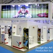 Выставочные стенды - здания, дизайн и воплощение масштабных выставочных сооружений фото