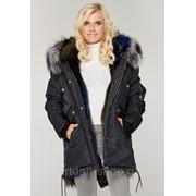 Куртка парка женская зимняя с мехом К-51 ех фото