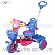 Велосипед детский 3-х колесный 404 фото