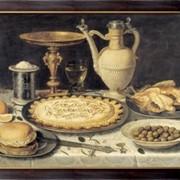 Картина Стол, 1612, Питерс, Клара фото