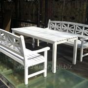 Комплект садовой мебели Бланш фото