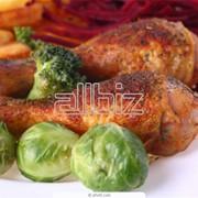 Курица варено-копченая фото