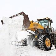 Уборка, вывоз снега фото