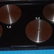 Образцы шероховатости ОШС-ТТ-Ч (точение торцевое) Ra20 - Ra1,6 чугунные фото