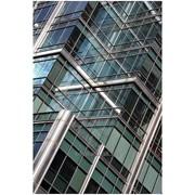 Алюминиевый профиль для витражного остекленения фото