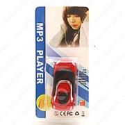 MP3 плеер форме автомобиля (Красный) фото