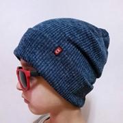 Для мальчиков теплая шапка в расцветках. БЛ-8-1118 фото