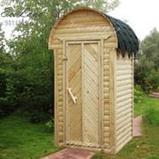 Туалет для дачи Терем 1,2х1,0 м, компл. Original фото