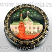 Шкатулка Москва Палех фото
