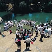 Крещение на Святой Земле фото
