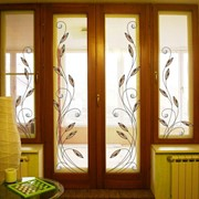 Витражи оконные,производство витражей в Мариуполе,изготовление витражей Мариуполь фото