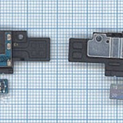 Аудио разъем для Samsung N5100 на шлейфе c динамиком и сенсором фото