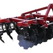 Плуг дисковый ПДМ-2,2, предназначен для основной обработки различных почв под зерновые и технические культуры, не засоренные плитняком и другими препятствиями, укомплектован дисками из борсодержащей стали фото