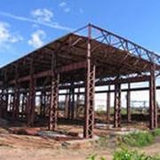 Монтаж зданий арочного типа фото