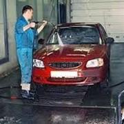 Мойка грузовых и легковых автомобилей, химчистка салона, полировка кузова и фар. фото