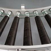 Рольганг (роликовый конвейер) фото
