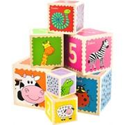 Кубики Na-Na обучающие IE178 фото