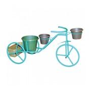 Подставка для цветов Велосипед М фото