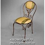 Кованый стул Модель КСЛ - 009 фото