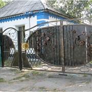 Кованые ворота под заказ фото