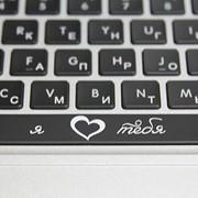 Лазерная маркировка клавиатуры( ноутбуков, телефона) фото