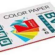 BVG Paper Бумага цветная BVG, А4, 80г, 50л/уп, красная, интенсив фото