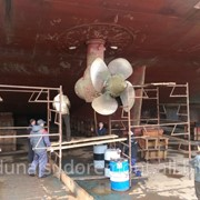 Ремонт винто-рулевого комплекса и ремонт донно-забортной арматуры фото