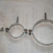 Держатели для труб из нержавеющей стали DN 15-150 AISI304 (08X18H10) фото