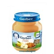 Пюре Gerber 130г яблоко, тыква с 4мес фото