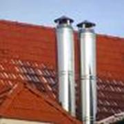 Строительство металлических дымоходов, дымовых и вытяжных труб фото