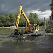 Очистка водоемов от растительности, Одесса фото