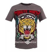 Мужская футболка Minute Mirth Tiger head с тигром фото