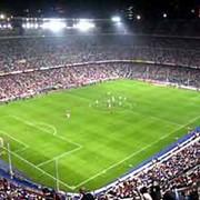 Строительство футбольных полей фото