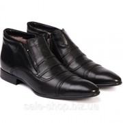 Ботинки мужские на меху ETOR Артикул 6057 фото