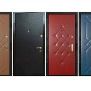 Металлические двери по индивидуальному заказу фото