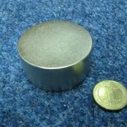 Неодимовый диск 55х25 фото