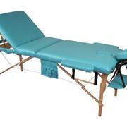 Деревянный 3-х сегментный стол для массажа фото