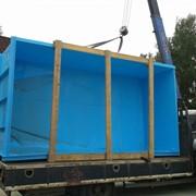 Прямоугольный бассейн из пластика 4 x 2 x 1,5 фото