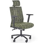Кресло компьютерное Halmar TROPIC (зеленый/черный) фото