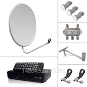 Спутниковое ТВ на 3 спутника комплект Оптовая Цена всего 4 дня фото
