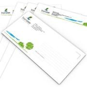 Фирменные конверты, визитки, папки, представительская полиграфия фото