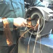 Перемотка и ремонт эл. двигателей фото