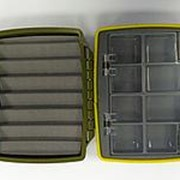 Коробка водонепроницаемая малая олива фото